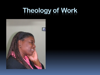 Theology of Work