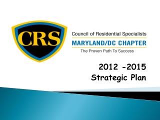 2012 -2015 Strategic Plan