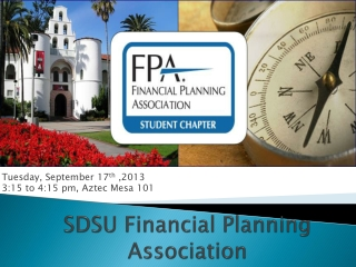 SDSU Financial Planning Association