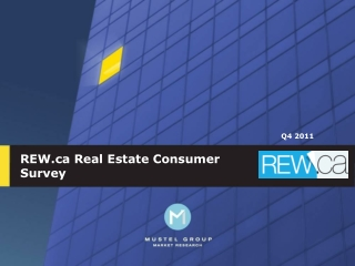 REW.ca Real Estate Consumer Survey