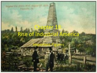 Chapter 18: Rise of Industrial America
