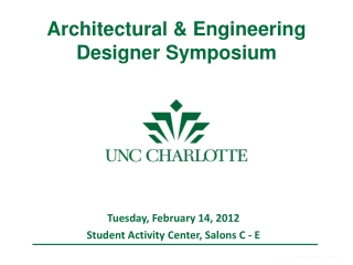 Architectural & Engineering Designer Symposium