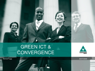 GREEN ICT & CONVERGENCE
