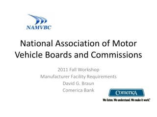 National Association of Motor Vehicle Boards and Commissions