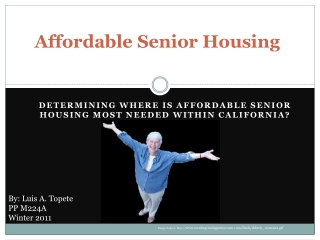 Affordable Senior Housing