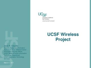 UCSF Wireless Project