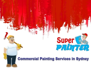 Commercial Painting Services in Sydney