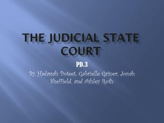 The Judicial State Court