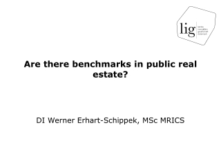 Are  there benchmarks  in  public  real  estate ?