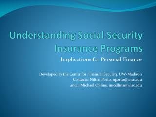 Understanding Social Security Insurance Programs