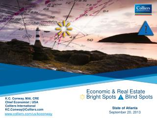 Economic & Real Estate      Bright Spots      Blind Spots