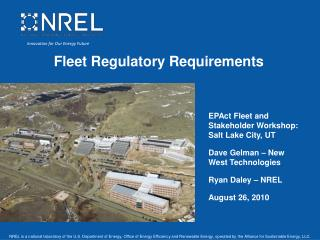 Fleet Regulatory Requirements
