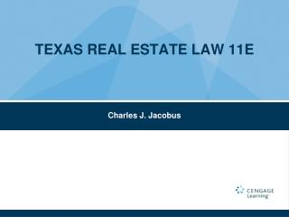 TEXAS REAL ESTATE LAW 11E