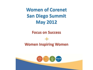Women of  Corenet San Diego Summit May 2012