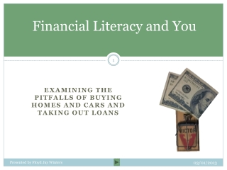 Financial  Literacy and You