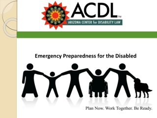 Emergency Preparedness for the Disabled