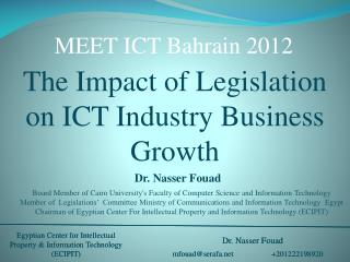 The Impact of Legislation on ICT  Industry Business Growth