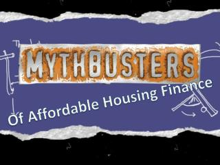 Of Affordable Housing Finance
