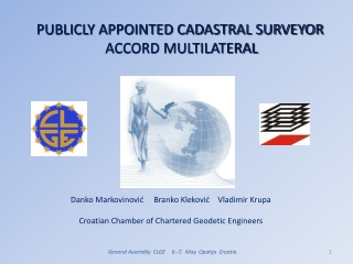 PUBLICLY APPOINTED CADASTRAL SURVEYOR   ACCORD MULTILATERAL