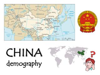 CHINA demography