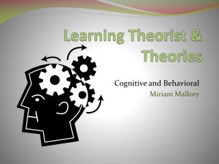 Learning Theorist & Theories