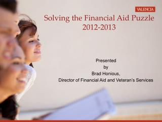 Solving the Financial Aid Puzzle 2012-2013