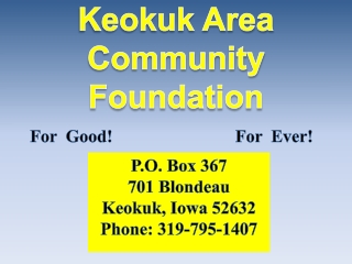 Keokuk Area Community Foundation