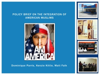 Policy Brief on the Integration of American Muslims