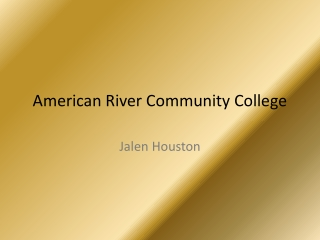 American River Community College