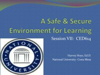 A Safe & Secure Environment for Learning