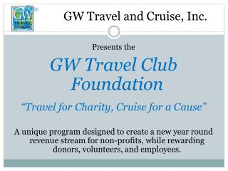 GW Travel and Cruise, Inc.