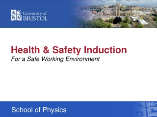 Health & Safety Induction