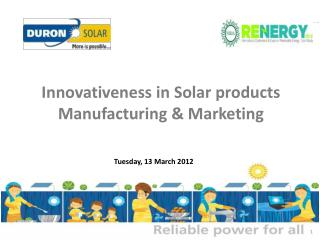 Tuesday, 13 March 2012
