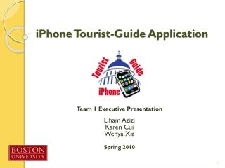 iPhone  Tourist-Guide Application