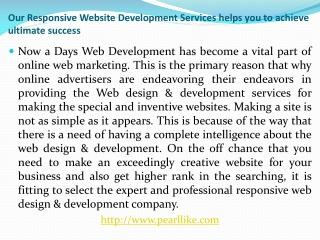 Responsive Website Development Company New York Pearl Like T