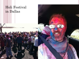 Holi Festival in Dallas