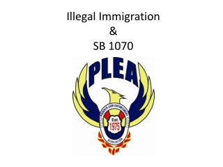 Illegal Immigration & SB 1070