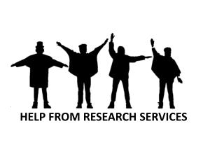 Help from research services