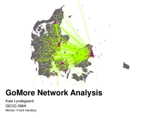 GoMore  Network Analysis