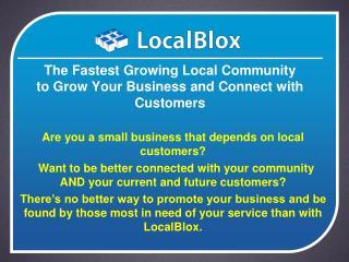 free local listing on localblox.com
