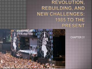 Revolution, Rebuilding, and New Challenges: 1985 to the Present
