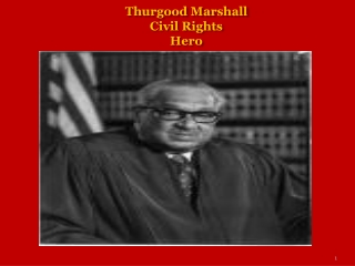Thurgood Marshall Civil Rights Hero