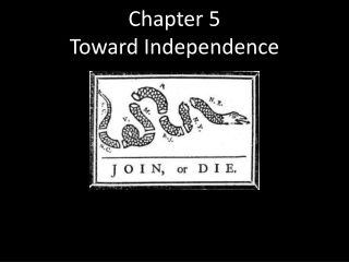 Chapter 5 Toward Independence