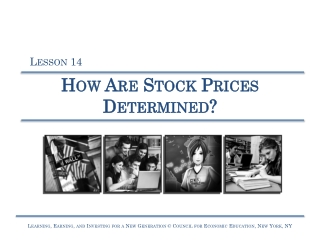 How Are Stock Prices Determined?