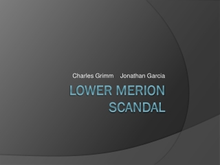 Lower Merion Scandal