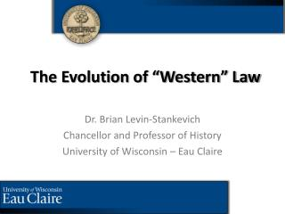 "The Evolution of ""Western"" Law"
