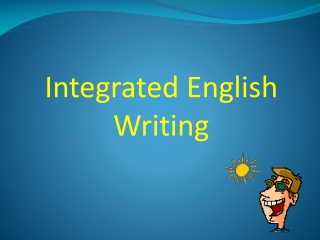 Integrated English Writing