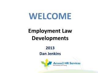 Employment Law Developments