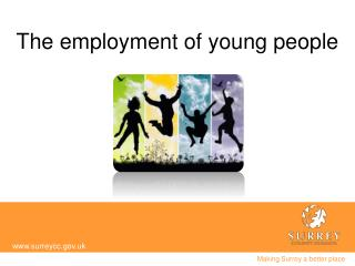 The employment of young  p eople