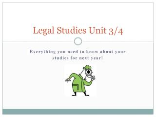 Legal Studies Unit 3/4